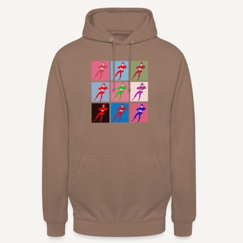 Stańczyk Warhol bez tla - Bluza z kapturem typu unisex