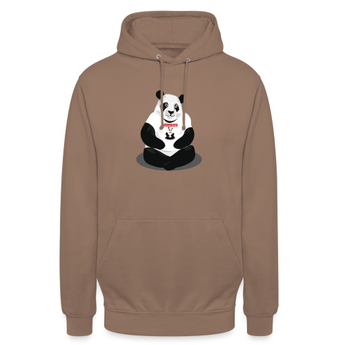 panda hd - Sweat-shirt à capuche unisexe