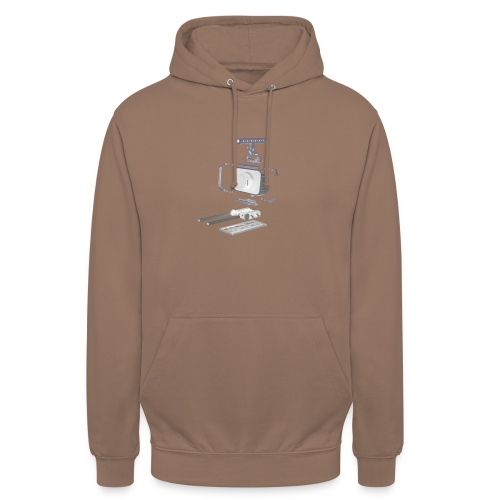VivoDigitale t-shirt - Blackmagic - Felpa con cappuccio unisex