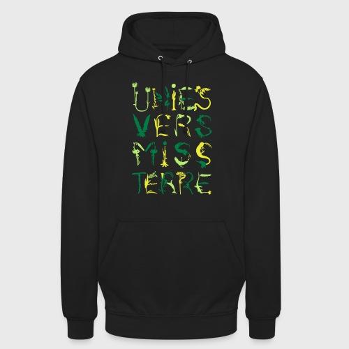 Univers Mystère - Sweat-shirt à capuche unisexe