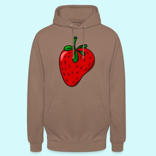 I love - Erdbeere - Strawberry - Unisex Hoodie