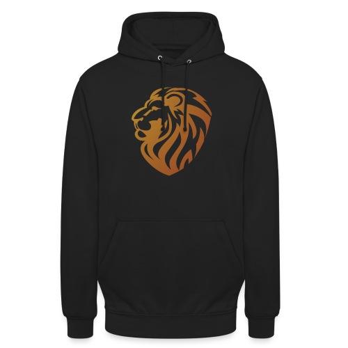 Bronze lion - Sweat-shirt à capuche unisexe