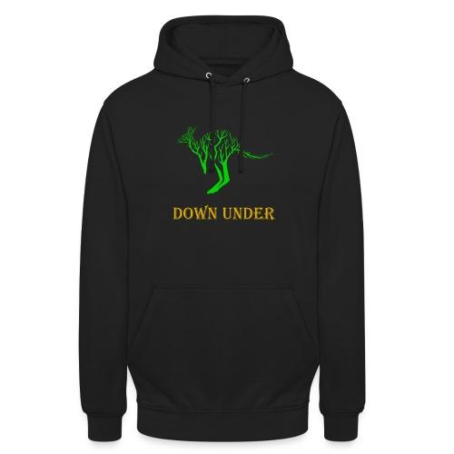 Down Under Kangaroo - Unisex Hoodie