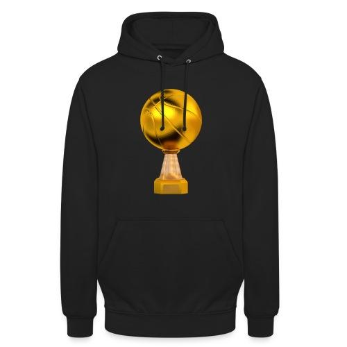 Basketball Golden Trophy - Sweat-shirt à capuche unisexe