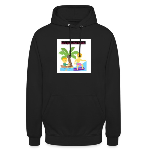 beach - Luvtröja unisex