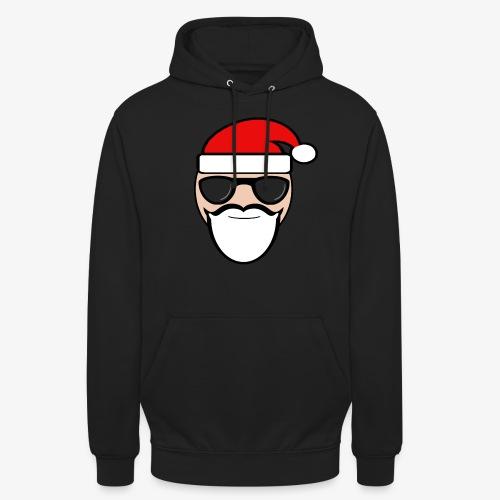 Coole kerstman - Hoodie unisex