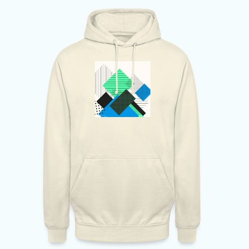 Abstract rectangles pastel - Unisex Hoodie