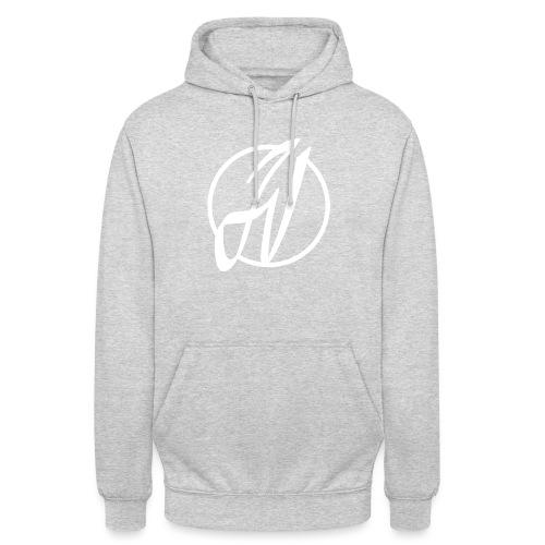 JV Guitars - logo blanc - Sweat-shirt à capuche unisexe