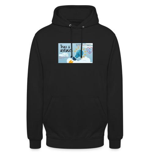 astuces mansour - Sweat-shirt à capuche unisexe