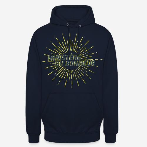 Ministère du Bonheur - Sweat-shirt à capuche unisexe