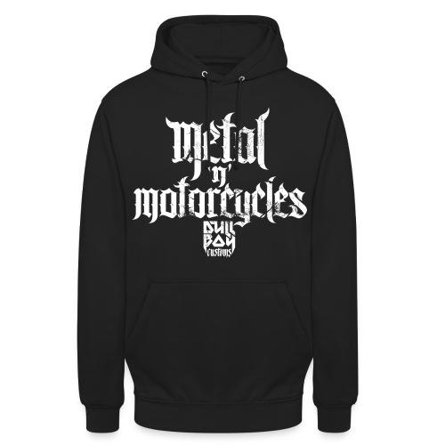 Metal 'n' Motorcycles - Unisex-hettegenser