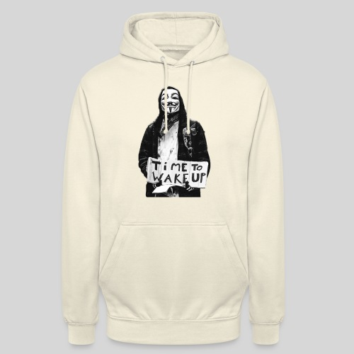 Time to wake up - Sweat-shirt à capuche unisexe