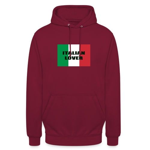 ITALIAN LOVER - Felpa con cappuccio unisex