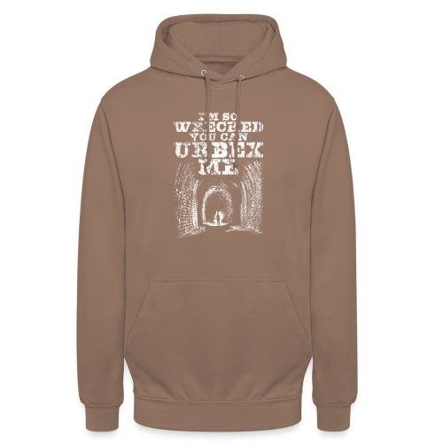 Urbex Me - Sweat-shirt à capuche unisexe