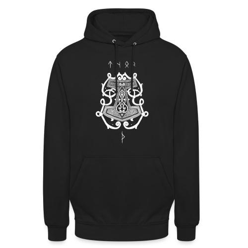 Mjöllnir - Sweat-shirt à capuche unisexe