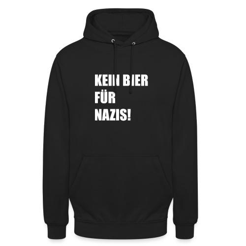 KEIN BIER FÜR NAZIS - Unisex Hoodie