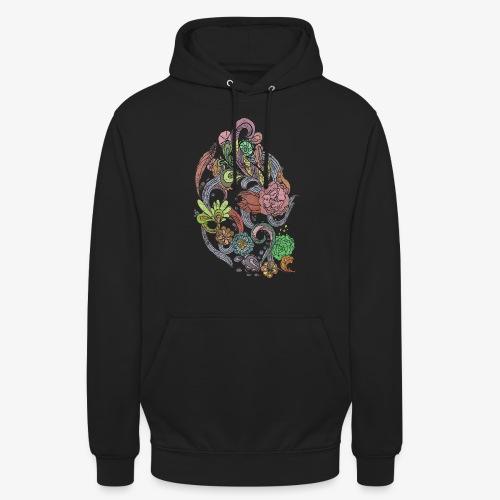 Flower Power - Rough - Luvtröja unisex