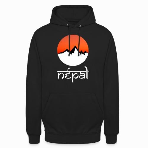 Hoodie Népal - Sweat-shirt à capuche unisexe