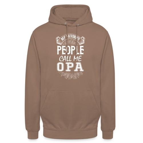 My Favorite People Call Me Opa - Unisex Hoodie