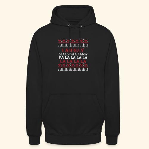 Gay Christmas sweater - Bluza z kapturem typu unisex