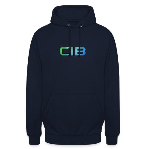 CuzImBacon Grønn og Blå logo - Unisex-hettegenser