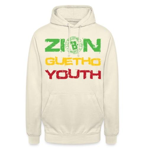 Zion Guetho Youth - Sudadera con capucha unisex