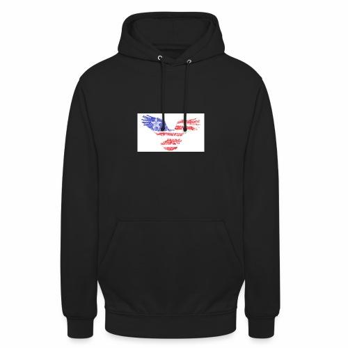Flying Eagles America png - Unisex Hoodie