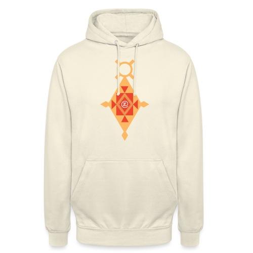 Etoile Croix du Sud Berbère - Sweat-shirt à capuche unisexe