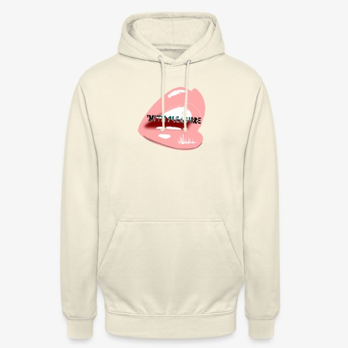 With Pleasure Mouth Logo - Unisex Hoodie