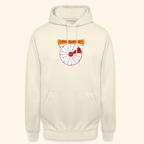 wheel of fortune? - Felpa con cappuccio unisex