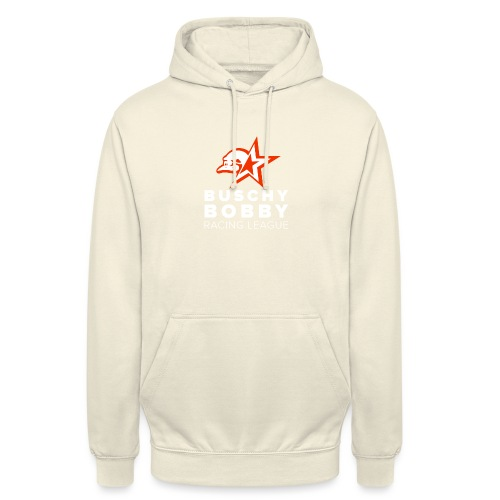 Buschy Bobby Racing League on black - Unisex Hoodie