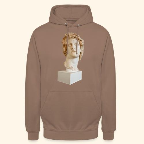 Roman Statue MACINTOSH PLUS - リサフランク420 / 現代のコンピュー - Sweat-shirt à capuche unisexe