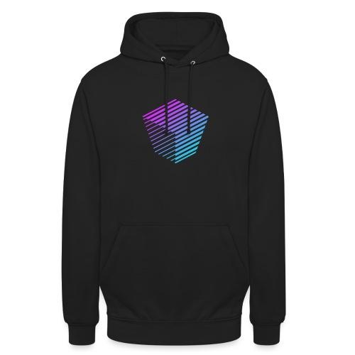 KUBUS Signature_purplefade - Unisex Hoodie