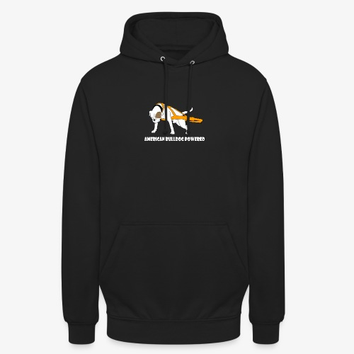 American Bulldog powered - Unisex Hoodie