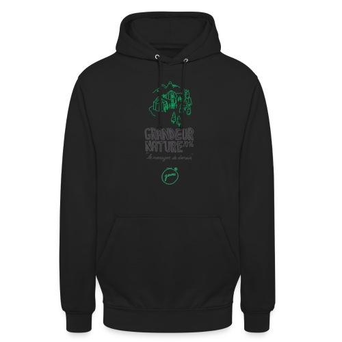 GN-montagnes-logo-titre-T - Sweat-shirt à capuche unisexe