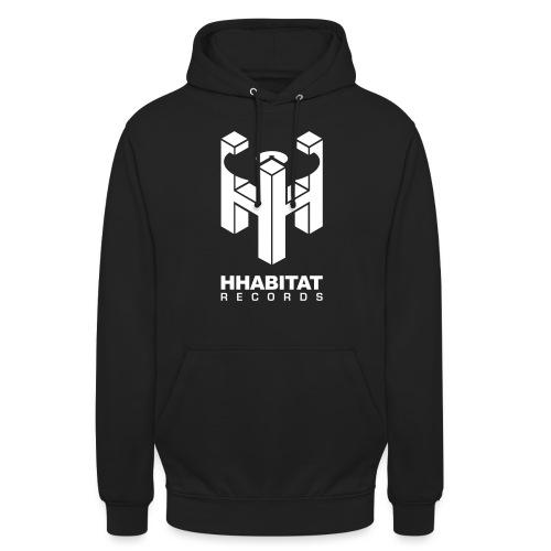 HHabitat Records Logo - Felpa con cappuccio unisex