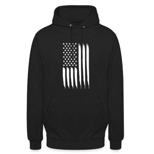 EEUU flag - Sudadera con capucha unisex