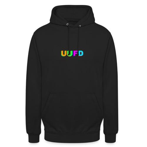 logo uufd trui 1 maand png - Hoodie unisex