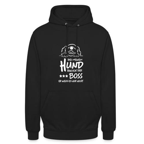 boss hund - Unisex Hoodie