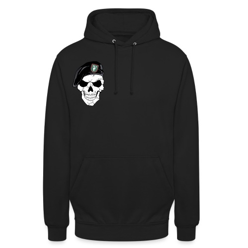 Veterans Platoon Skull - Hættetrøje unisex