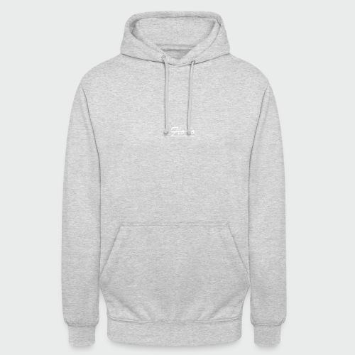 flolo durchgestrichen in weiß - Unisex Hoodie