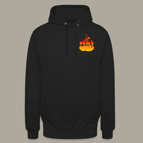 Oki Fuego - Jin - Sweat-shirt à capuche unisexe