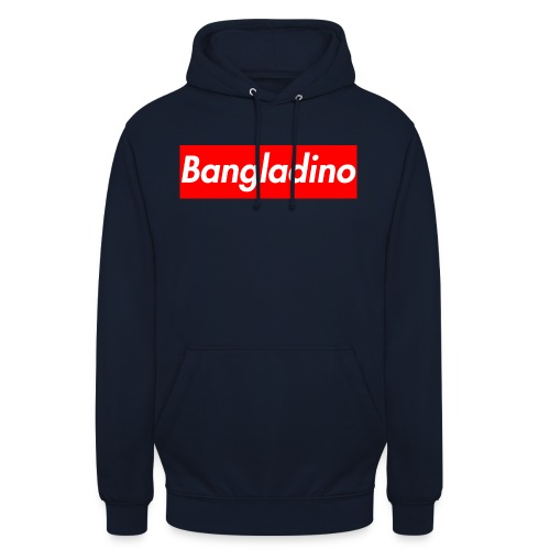 Bangladino - Felpa con cappuccio unisex
