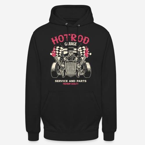 hotrod vintage cars - Unisex Hoodie