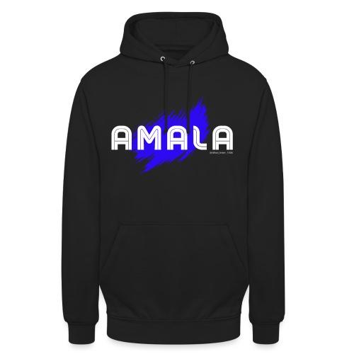 Amala, pazza inter (nera) - Felpa con cappuccio unisex