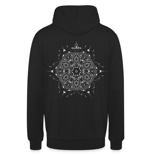 quanta music tshirt design last - Unisex Hoodie