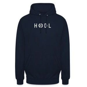 Hodle Bitcoins - White Design - Unisex Hoodie