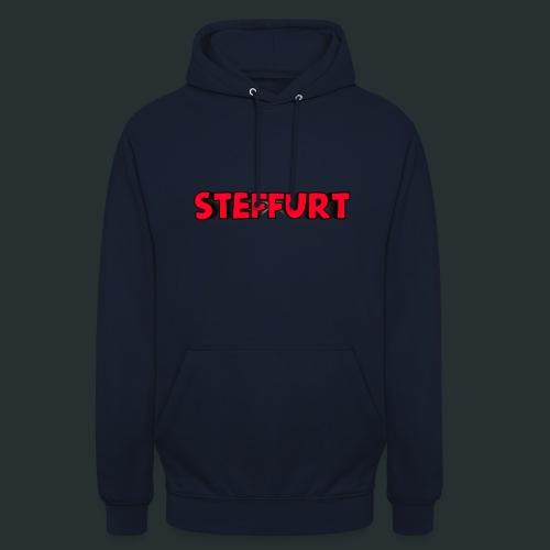Steffurt LogoEffe zo weer weg xD - Hoodie unisex