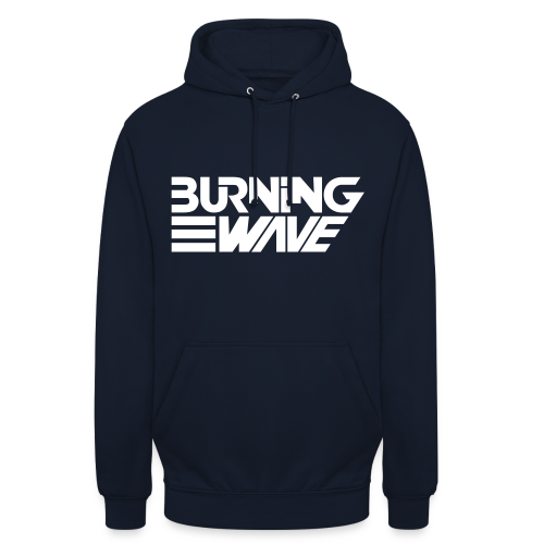 Burning Wave Block - Sweat-shirt à capuche unisexe