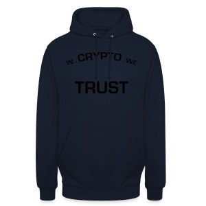 In Crypto we trust - Hoodie unisex